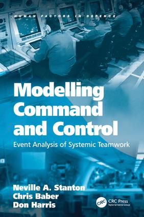 Modelling Command and Control: Event Analysis of Systemic Teamwork, 1st Edition (Hardback) book cover