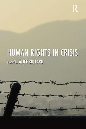 Human Rights in Crisis: 1st Edition (Hardback) book cover