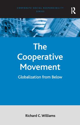 The Cooperative Movement: Globalization from Below, 1st Edition (Hardback) book cover