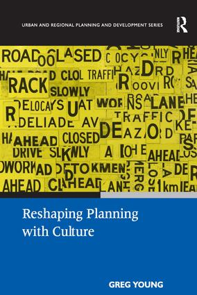 Reshaping Planning with Culture: 1st Edition (Hardback) book cover