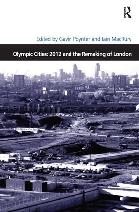 Olympic Cities: 2012 and the Remaking of London book cover