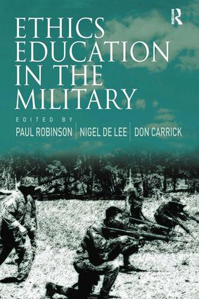 Ethics Education in the Military: 1st Edition (e-Book) book cover