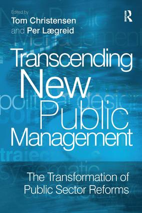 Transcending New Public Management: The Transformation of Public Sector Reforms (Paperback) book cover