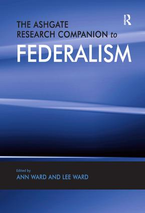 The Ashgate Research Companion to Federalism (Hardback) book cover