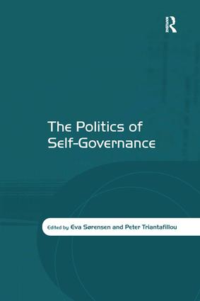 The Politics of Self-Governance: 1st Edition (Hardback) book cover