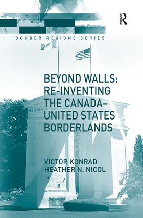 Beyond Walls: Re-inventing the Canada-United States Borderlands book cover