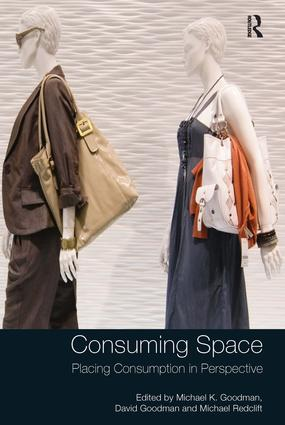 Consuming Space: Placing Consumption in Perspective (Hardback) book cover