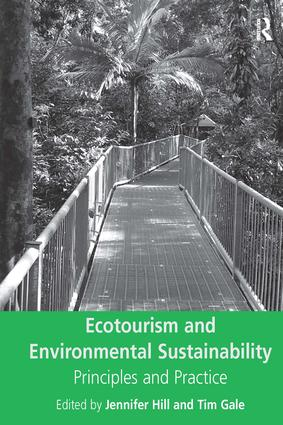 Ecotourism and Environmental Sustainability (Hardback) book cover