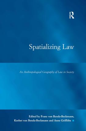 Spatializing Law: An Anthropological Geography of Law in Society book cover