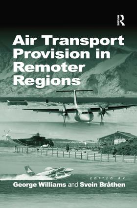 Air Transport Provision in Remoter Regions book cover