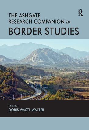 The Routledge Research Companion to Border Studies (Hardback) book cover