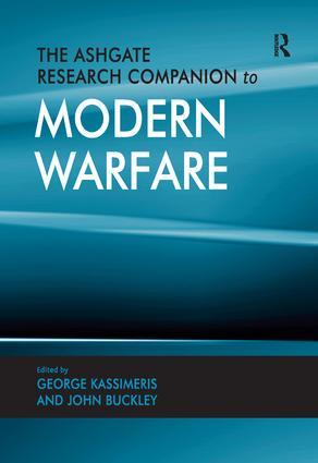 The Ashgate Research Companion to Modern Warfare book cover