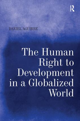The Human Right to Development in a Globalized World (Hardback) book cover