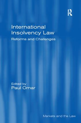 International Insolvency Law: Reforms and Challenges, 1st Edition (Hardback) book cover
