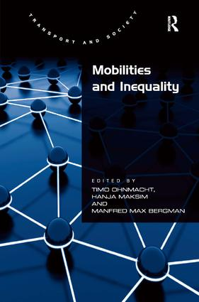 Mobilities and Inequality: 1st Edition (Paperback) book cover