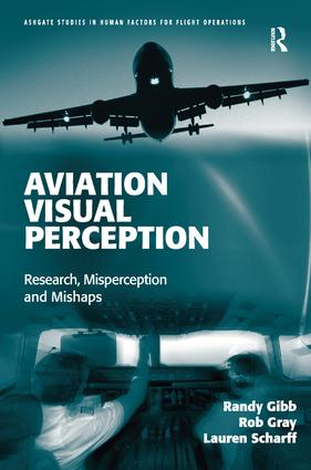 Aviation Visual Perception: Research, Misperception and Mishaps (Hardback) book cover