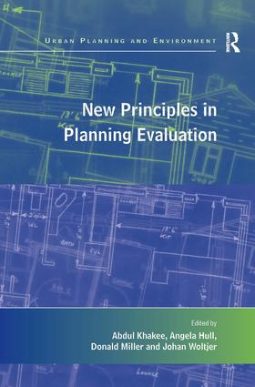 New Principles in Planning Evaluation: 1st Edition (Paperback) book cover