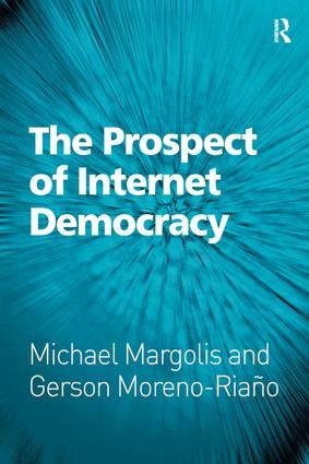 The Prospect of Internet Democracy (Hardback) book cover