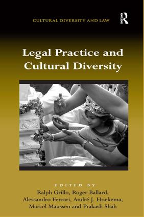 Legal Practice and Cultural Diversity (Hardback) book cover