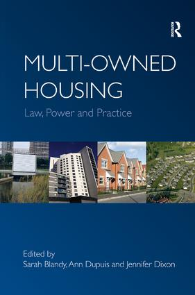 Multi-owned Housing: Law, Power and Practice, 1st Edition (Hardback) book cover