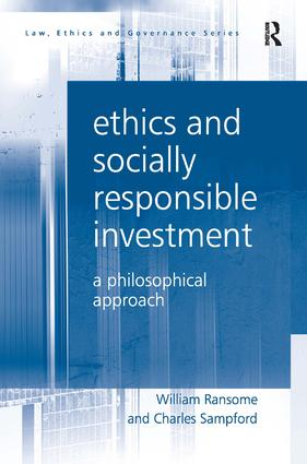 Ethics and Socially Responsible Investment