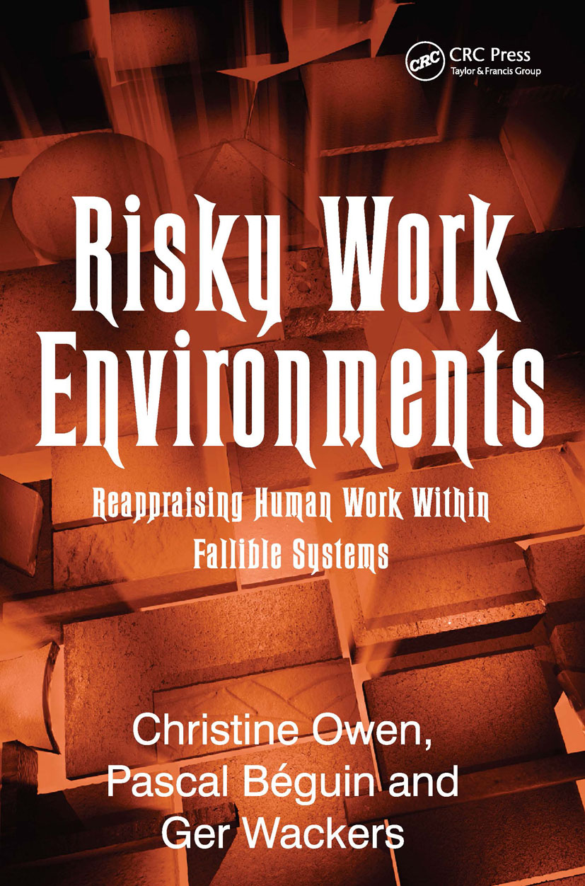 Risky Work Environments: Reappraising Human Work Within Fallible Systems (Hardback) book cover