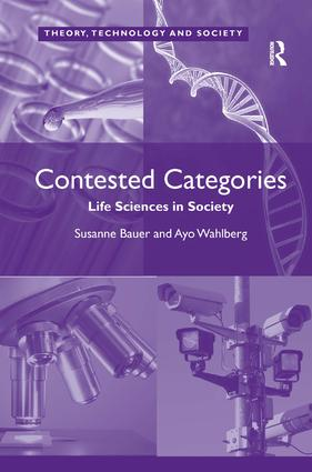 Contested Categories: Life Sciences in Society book cover