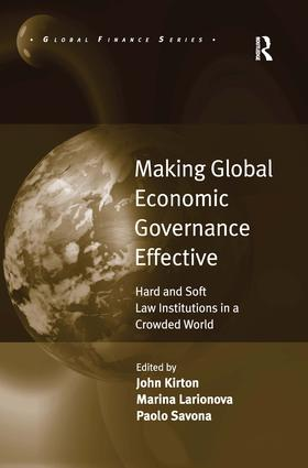 Making Global Economic Governance Effective