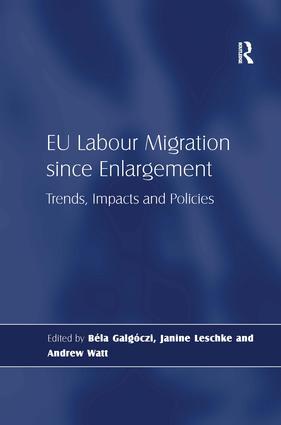 EU Labour Migration since Enlargement