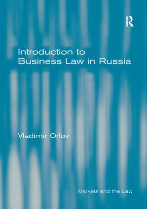 Introduction to Business Law in Russia