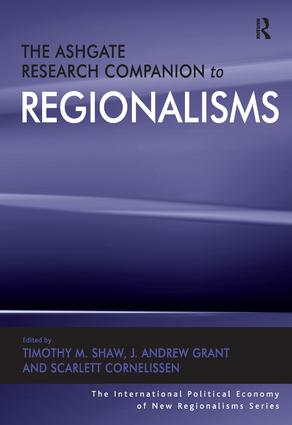 The Ashgate Research Companion to Regionalisms