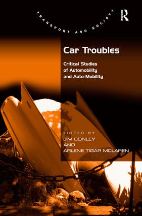 Car Troubles: Critical Studies of Automobility and Auto-Mobility (Hardback) book cover
