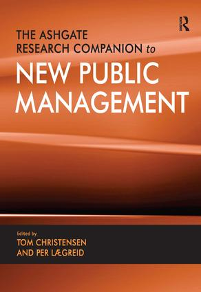 The Ashgate Research Companion to New Public Management (Hardback) book cover