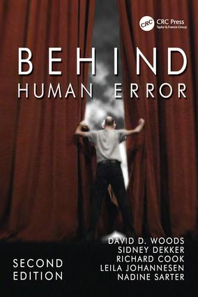 Behind Human Error: 2nd Edition (Paperback) book cover