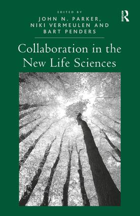 Collaboration in the New Life Sciences: 1st Edition (Hardback) book cover
