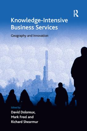 Knowledge-Intensive Business Services: Geography and Innovation, 1st Edition (Paperback) book cover