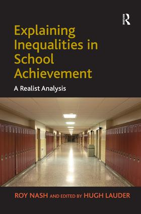 Realism in the Sociology of Education: 'Explaining' Social Differences in Attainment
