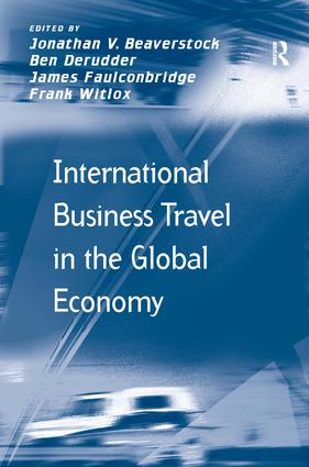 International Business Travel in the Global Economy (Hardback) book cover