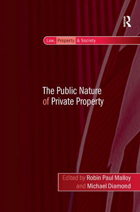 The Public Nature of Private Property book cover