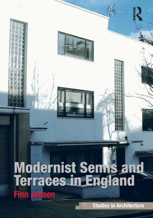 Modernist Semis and Terraces in England book cover