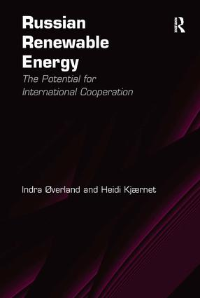 Russian Renewable Energy: The Potential for International Cooperation book cover