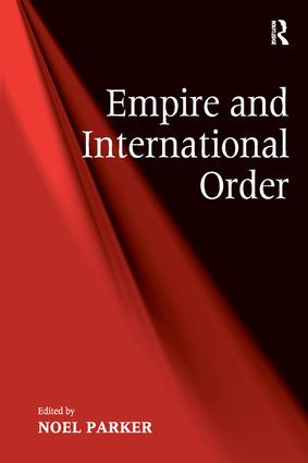 Empire and International Order (Hardback) book cover