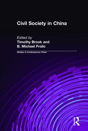 Civil Society in China: 1st Edition (Hardback) book cover