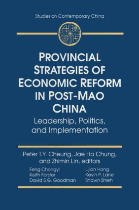 Introduction: Provincial Leadership and Economic Reform in Post-Mao China