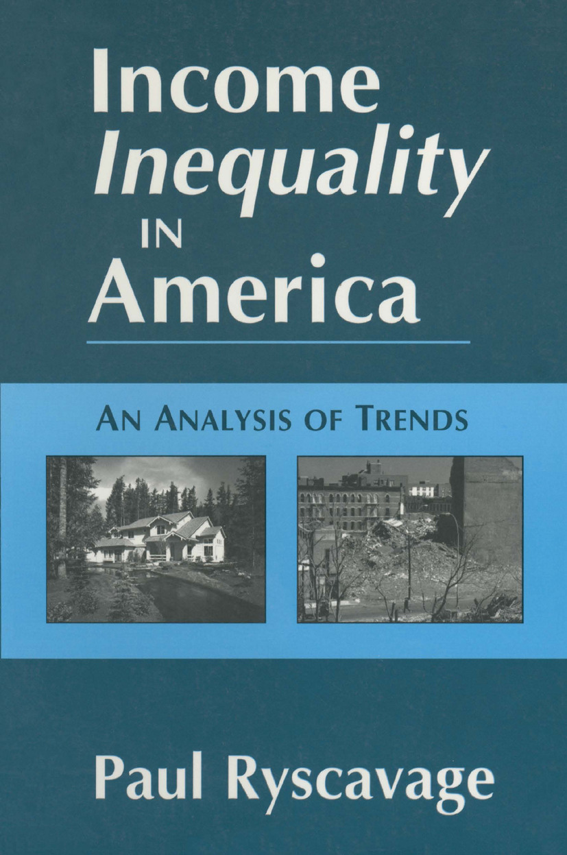 Income Inequality in America: An Analysis of Trends: An Analysis of Trends, 1st Edition (e-Book) book cover