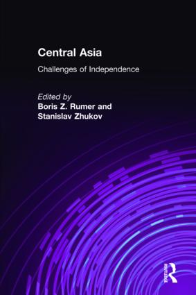Central Asia: Challenges of Independence: Challenges of Independence, 1st Edition (Hardback) book cover