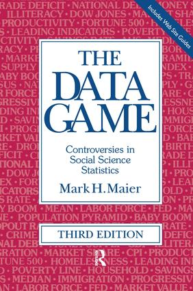 The Data Game: Controversies in Social Science Statistics book cover
