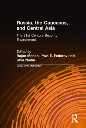 The Security Environment in the South Caucasus and Central Asia