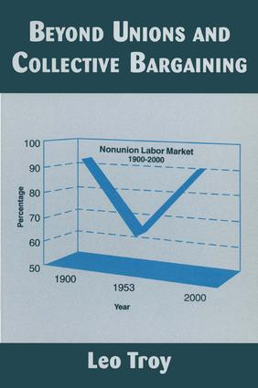 Beyond Unions and Collective Bargaining: 1st Edition (Paperback) book cover