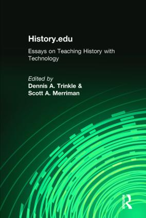 History.edu: Essays on Teaching History with Technology, 1st Edition (Hardback) book cover